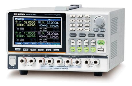 電子負荷機能付き多出力電源GPP-4323(テクシオ・テクノロジー/GWInstek)