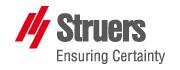 ストルアス/Struers ロゴ